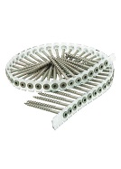 #8 X 2-1/2 Collated Outdoor Deck Screw, Sq. Drive Flat Head (800)
