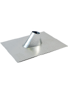 1.5 in. Aluminum Cone Flashing, 21x21 Base