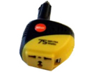 DC to AC Power Inverter, by Caulk Warmer