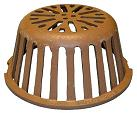 9-3/4 in. Smith 1310CID Replacement Cast Iron Drain Dome