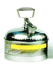 2-1/2 Gallon Type-1 Safety Can, SS