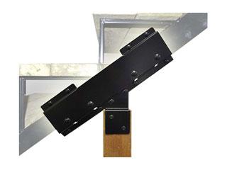 Stair Stringer Connector Bracket Kit (1)   Pylex #13920 Connector Bracket  Kit For