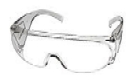 Clear Over-Glasses Safety Glasses (12)