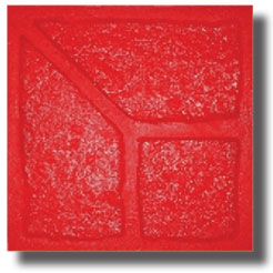 Old Chicago Soldier Course Brick Concrete Stamp, 9-1/2 Sq. Corner - Old Chicago Soldier Course Brick Concrete Stamp Tool, 9 1/2 in. x 9 1/2 in. Finishing Corner. Price/each. (special order, shipping lead time 2 weeks; aka Butterfield BST6801-Corner)