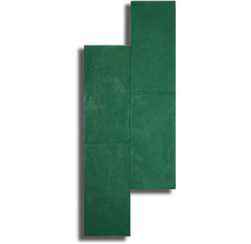 Colorado Flagstone Concrete Stamp Tool, 24 x 59.5 in. Rigid, Green - Colorado Flagstone Pattern Concrete Stamp Tool, Rigid Type, 24x59.5 inches. Price/Each. (special order, shipping lead time 2 weeks; aka Butterfield BST3200-R)