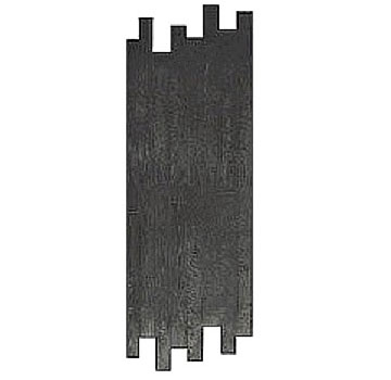 Hardwood Plank Concrete Stamp, 28x72 in. 3-1/2 inch plank. Rigid. - Hardwood Plank Pattern Concrete Stamp Tool, Rigid, 28x72 size stamp with 16 of the 3-1/2 x 23-1/2 planks. Price/Each. (aka Butterfield BST7350-R)