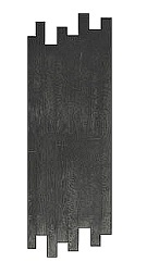 Hardwood Plank Concrete Stamp, 28x72 in. 3-1/2 inch plank. Rigid.