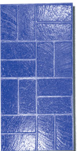 New Brick Basket Weave Concrete Stamp Tool, 30-1/2x15-1/2, Flexible - New Basket Weave Brick Concrete Stamping tool pattern, 30 1/2 in. X 15 1/2 in. Concrete Stamp Tool, Flexible. Price/each. (special order, shipping lead time 2 weeks; aka Butterfield BST6100-FL)