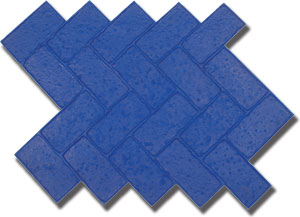 Pennsylvania Herringbone Brick Concrete Stamp, 34-1/2x20-1/2, Rigid - Pennsylvania Herringbone Brick Pattern Concrete Stamping Tool, 39 in. X 26 1/4 in. Rigid Concrete Stamp Tool. Price/each. (aka Butterfield #BST6606-R)