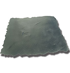 Italian Slate. Concrete Flexible Texture Mat. w/Handles, Seamless. 48 in x 48 in - Concrete Stamping Tool for Italian Slate. Flexible Texture Mat with Handles and a Feathered Edge. Seamless. 48 X 48 inch. Price/Each. (special order, shipping lead time 2 weeks; aka Butterfield #BST7248-FLFT)