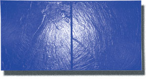 Cottage Slate Concrete Stamp, 18 x 36 in. Flexible Blue - Cottage Slate Concrete Stamp Tool. 18 in. X 36 in. Flexible Stamping Tool for Concrete. Blue (1 of a 3 color stamps to achieve pattern) Price/Each. (special order, shipping lead time 2 weeks; aka Butterfield BST4400-BL-FL)