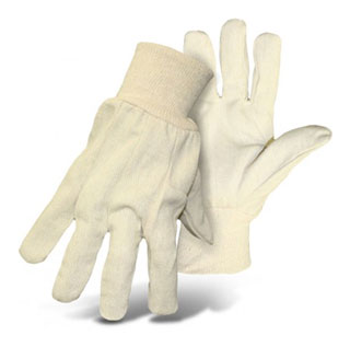 Boss #1JC13011, Poly Cotton Knit Wrist Glove, Box/12 Pair (Specify Size) - Boss #1JC13011. Poly Cotton Knit Wrist Glove. This glove is made up of 8 oz. single-ply poly/cotton blend which has got Clute Cut design. 12 Pair/Box. Price/Box. (specify Size before adding to cart; shipping lead time 1-2 business days)