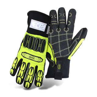 Boss #1JM760, Mech. Glove, High-Vis, Cut Level 3, Insulated, (6-Pair) - Boss #1JM760 Cut-Level 3 Mechanics Glove, Insulated, High-Vis plus Impact Resistant Back, Cut Level 3 Aramid Palm with PVC Patches, Excellent Grip. 6 Pairs/Pack. Price/Pack. (specify size before adding to cart; Shipping Leadtime 1-2 business days)