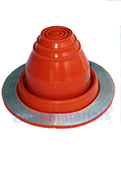#1 Round Base Silicone Pipe Flashing