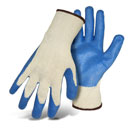 Boss #1SR8427L String Knit Glove, Latex Palm Dip, Box/12 Pair