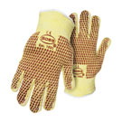 Boss #1TN4100KB, Hot Mill Style Glove, Reversible Terry, 12-Pairs/Pack