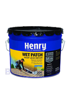 Henry 208 Wet Patch 3-1/2 Gal Can - HENRY 208 WET PATCH ROOF CEMENT 3-1/2 GAL CAN. PRICE/CAN.