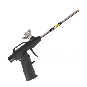 Dow Pro-13 Foam Dispensing Gun KIT - Dow # 230408 PRO-13 Economy Foam Dispensing Gun Kit. Included 2 extension nozzles, 2 cone tips, 1 replaceable brass tip. Gun is used with Great Stuff, Enerfoam Foam, etc. Price/Kit.