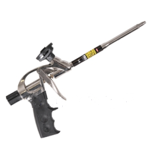 Dow Pro-14 Professional Foam Dispensing Gun - Dow #230409 PRO-14, 7-3/4 inch Barrel, Professional / Contractor-Grade Foam Dispensing Gun. Lightweight Aluminum Body. For use with Dow Great Stuff, Enerfoam and others. Includes Smooth Needle Nose Tip. Price/Gun.