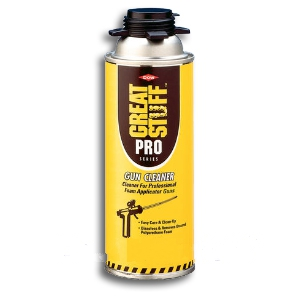 Dow Great Stuff Pro Cleaner, 12 Oz. Can (1), UPS ground only - Dow #259205 DOW GREAT STUFF PRO CLEANER (can only, no gun). 12 OZ AEROSOL CAN. PRICE/CAN. (Flammable; UPS GROUND SHIPMENT ONLY).