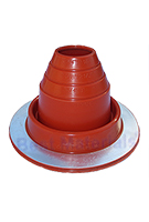 #2 Round Base Silicone Pipe Flashing