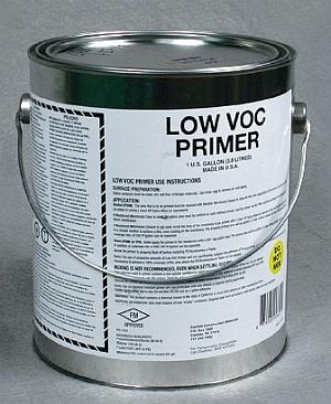 EPDM Primer, Low VOC (1-Qt) - EPDM PRIMER, LOW VOC GRADE. FOR EPDM ROOFING MEMBRANE. 1-QUART CAN. PRICE/CAN. (Flammable. Truck or UPS Ground Shipment Only).
