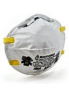 3M 8210 N95 Grade Particulate Respirators, with Media Filter  (160/Case)