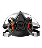 3M 6300 Half Mask (Large Size) Respirator, 24 Units Per Case