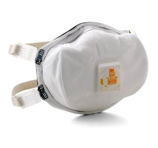 3M N100 Respirator w/ Comfort Flow Valve 13578 - 3M #8233 N100 Respirator with Comfort-Flow Exhilation Valve. Individually Bagged. 1/Bag. Price/Each.