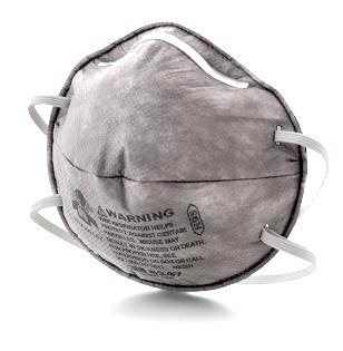 3M 8247 R95 Organic Vapor (OV) Respirator (Box of 20) - 3M 8247 R95 ORGANIC VAPOR RESPIRATOR WITH CARBON FILTER FOR SOLVENTS/OIL FUMES. MEETS NIOSH 42CFR 84 R95 REQUIREMENTS. 20/BOX. PRICE/BOX.