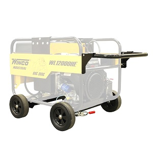 Winco 4-Wheel Dolly Kit, fits HE 12KW/18KW Models - Winco Model 16199-032 4-Wheel Dolly Kit. Fits year WL12000HE, WL18000VE, HPS120000HE Models. Price/Each. (shipping leadtime 2 business days)