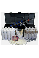 Concrete Wall Crack Repair Kit, Urethane Injection, 40 ft.