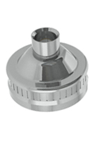 Albion 2 in. Threaded Cap for Metal Nozzles
