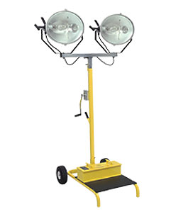 CEP  #5322, 12 Foot High, Elliptical Metal Halide Cart Light, 2000 W - CEP  #5322, 12 Foot High, Elliptical Metal Halide Cart Light with 800lb Self Breaking Winch Driven Mast. 2000 Watts. Price/Each. (shipping lead time 1-2 business days)