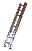 16 ft. Aluminum Extension Ladder, Type 1A 300 Lb., Made/USA