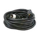 CEP #6410M, 10 Foot  Power Cord, 50A, 6/3 – 8/1, SOW Rubber