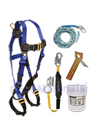 Roofers Basic Fall Arrest / Fall Protection Kit