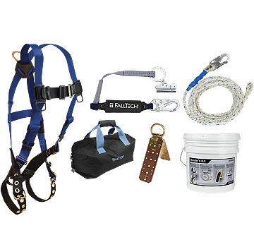 Premium Roofers Fall Arrest / Fall Protection Kit - Falltech