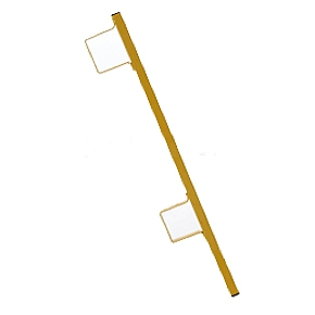 Acro 12055 Safety Guardrail Post - ACRO 12055 Safety Guardrail Post. Add-on or Replacement Post for Guard Rail Systems 12060, 12070, 12075 and 12090. Price/Each. (shipping leadtime 1-3 business days)