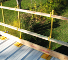 Acro 12060 Universal Flat Roof Guardrail Set