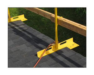 Acro 12075 Open-Edge Guardrail System - ACRO 12075 Open-Edge Guardrail System for Pitched Residential Roofs. Easy to install & remove safety railing. Price/Each.