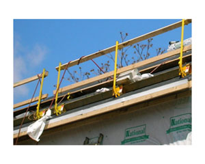 Acro 12070 Steep-Pitch Roof Guardrail System - Acro 12070 Steep-Pitch Guardrail System for residential roofs. Price/Each.