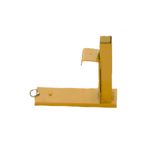 ACRO 12022 Shoe for Guardrail Post - ACRO 12022 Guardrail Post Shoe. Use with 12060 system. Price/Each.