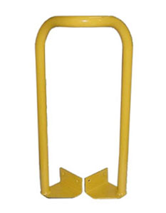 SLE-Y Safety Grab Bar for Roof Hatch - SLE-Y Safety Grab Bar for Roof Hatches. 24 inch high grab features all steel construction, safety yellow color finish. Includes installation hardware. Mounts to exterior of hatch curb. Price/Each. (Roof Hatch Not Included)