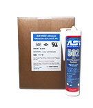 ASI 502  Silicone Sealant RTV, TRANSLUCENT Color. SPECIFY COLOR Case/12
