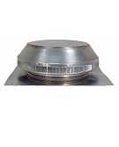 12 inch Diameter Pop Vent, Roof Breather / Intake Vent, 1 inch Collar