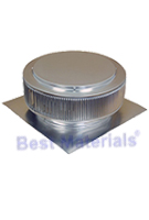 24 in. ID Aura Ventilator, with 2 in. Collar, for Shingle Roof