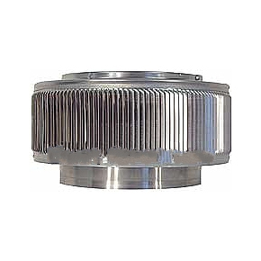 30 in. ID Aura Roof Ventilator Head - 30 inch ID, 37 inch OD, Aura Retrofit vent (head only). 12 inch Height. All Aluminum. Mill Finish. Price/each. (oversize item; special shipping applies; leadtime 2 weeks)