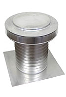 10 inch Diameter KV-10 Keepa Vent, Aluminum Attic Vent for Flat Roof (1)