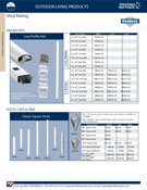 Amerimax ProDeck Vinyl Deck Railings Catalog